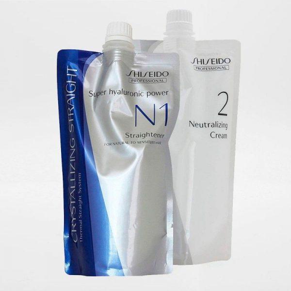 Alisado Japonés Shiseido Crystallizing N cabellos Sensibles 400 ml.