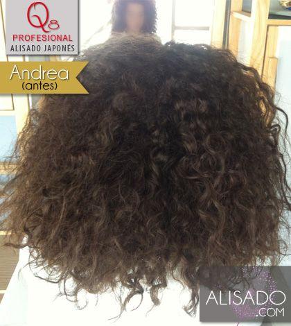 Andrea Antes1 Alisado Japones Afro